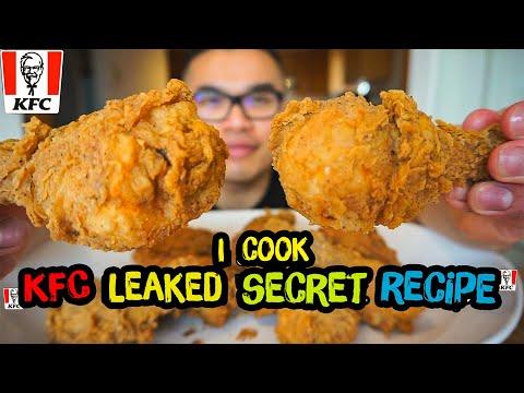 "I cooked KFC leaked ""Secret Recipe""   DIY   COPYCAT"