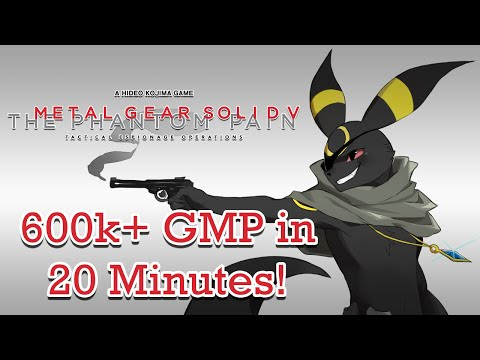 Metal Gear Solid V: The Phantom Pain - 600k+ GMP & A/A+ SOLD