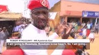 Bobi Wine in independence cat-and-mouse chase with police