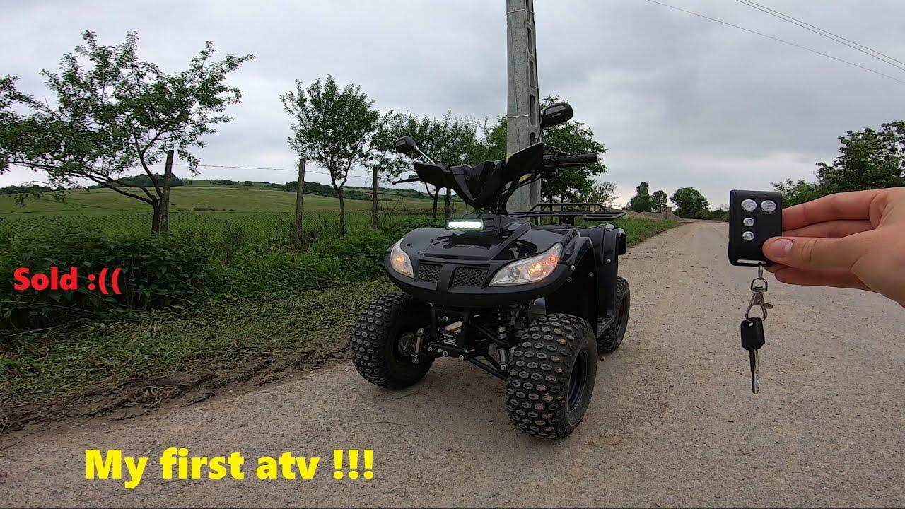 CAM ASTA A FOST... *Prezentare ATV Bmw 125 dupa 4 ANI!*