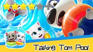 Talking Tom Pool Level 213-216 Walkthrough Let's help them! Recommend index four stars