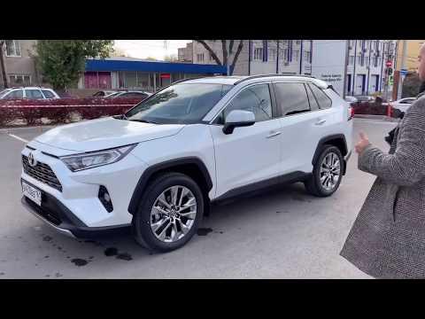 New Toyota RAV4 для Российского рынка!