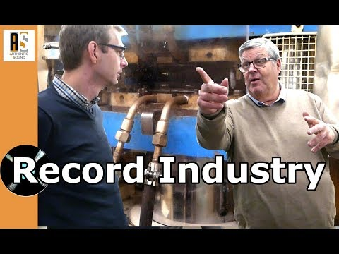 How Vinyl Discs are Made: Unique Visit to Record Industry !
