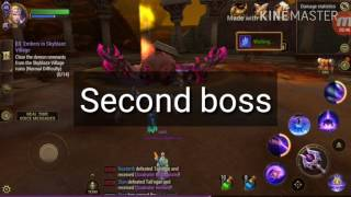 Skyblaze Village 1,2 bosses guide