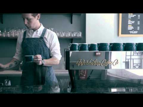 60 Second London Cafe Guide featuring Workshop Coffee Co.