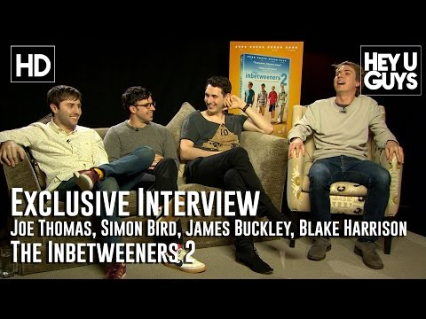 The Inbetweeners 2   Joe Thomas, Simon Bird, James Buckley, Blake Harrison