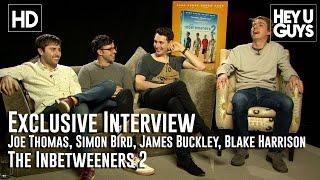 The Inbetweeners 2 Interview - Joe Thomas, Simon Bird, James Buckley, Blake Harrison