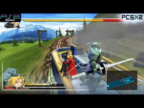 Fullmetal Alchemist and the Broken Angel - PS2 Gameplay 1080p (PCSX2)