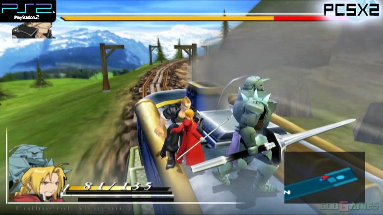 Fullmetal Alchemist and the Broken Angel - PS2 Gameplay ...