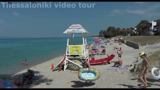 Hanioti Beach in Halkidiki / Παραλία Χανιώτης Χαλκιδική 2016(Hanioti Halkidiki Thessaloniki Greece / Ханиоти Плажа на Халкидикију /Chaniotis beach / Пляж Ханиоти в Халкидиках Hanioti is a small and very..., 2016-07-03T18:46:50.000Z)
