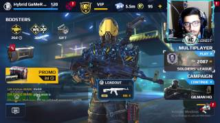 Modern Combat 5 PC - KR-15 Gameplay (So many assists) - LIVE!#34