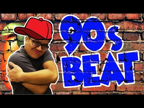 THROWBACK! Making A Chill 90s Hip Hop Beat From Scratch In Fl Studio!