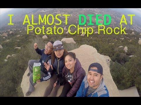 #venturinACROSSamerica | I Almost died @ Potato Chip Rock!