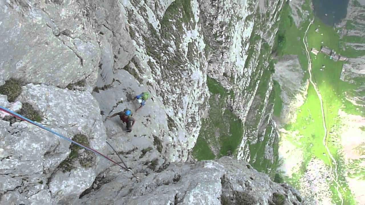 Alpsteinmarathon Die Längste Kletterroute Im Alpstein