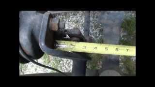 adjusting air brakes