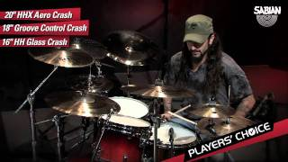 [3.62 MB] SABIAN Players' Choice - Mike Portnoy Demos three Crashes