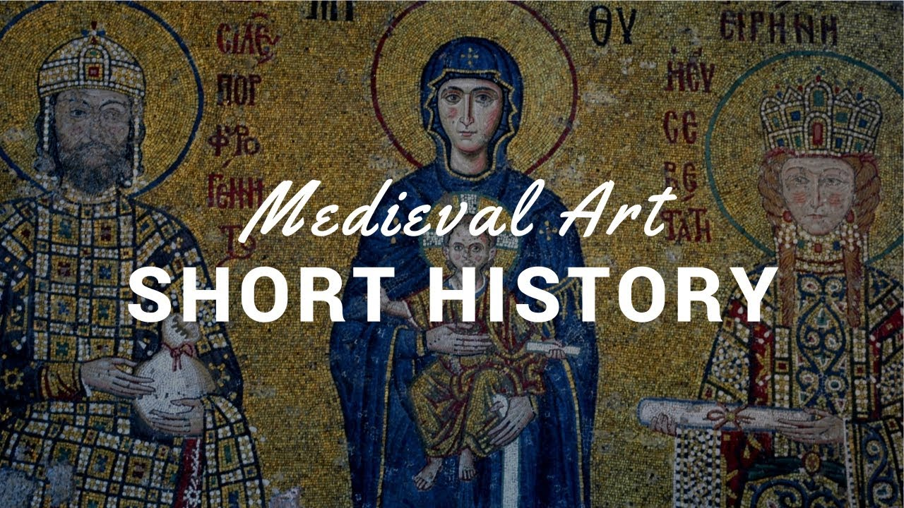 Medieval Art I In Ten Minutes With Commentary And Images