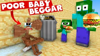 POOR BABY BEGGAR SIRENHEAD MINECRAFT ANIMATION