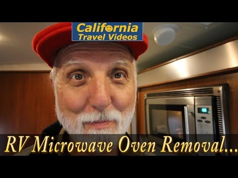 cTv RV Live - Microwave Oven Removal, Repair & Replacement - Part 1