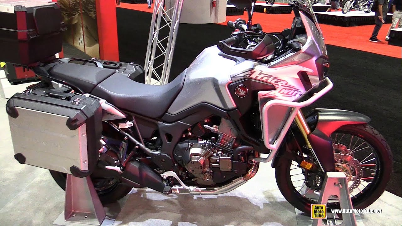 2017 honda africa twin dct walkaround 2016 aimexpo orlando youtube. Black Bedroom Furniture Sets. Home Design Ideas