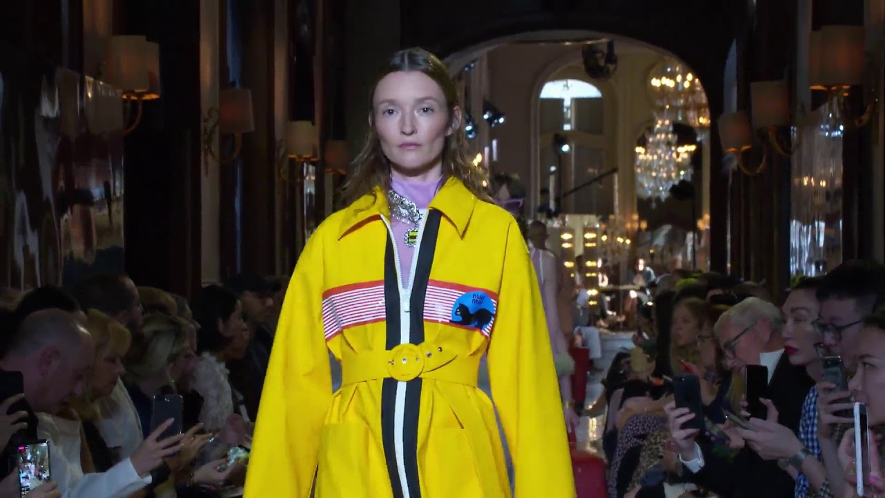 8f567a14eab Miu Miu Resort 2019 - YouTube