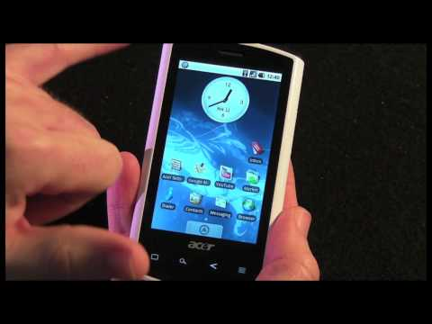Acer Liquid A1 Mobile Phone - Part 1 - Unboxing & Overview
