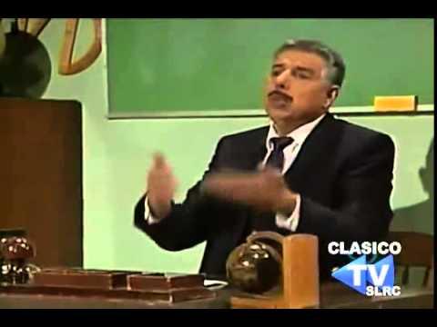 El Chavo del 8 (ultimo capítulo)   Clases de Astronomía con el Profesor jirafales 1992