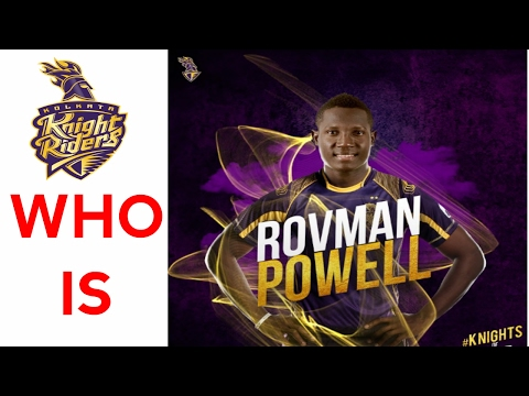 IPL 2017 - Is Rovman Powell (Kolkata Knight Riders) better than Nicholas Pooran (MI)?