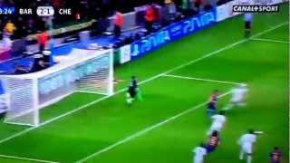 Messi rate le penalty en demi-final de LdC face à Chelsea