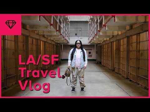 Los Angeles & San Francisco Travel Vlog | nitro:licious