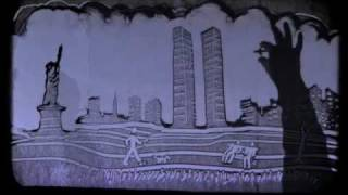 "Sand Art - ""Never Forget"" a 9/11 Momorial by Joe Castillo"