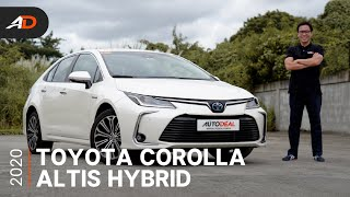 2020 Toyota Corolla Altis Hybrid Review - Behind the Wheel