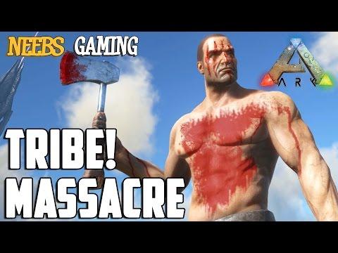 Ark: Survival Evolved - Tribe Massacre