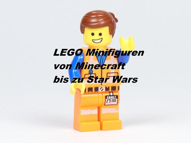 Ein Review meiner LEGO® Minifigurensammlung von Minecraft bis Star Wars