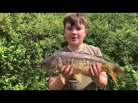 Our First Fishing Video - Carp At Makins Fishery