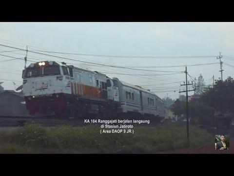 Perjalanan Tunggal KA Jarak Jauh : KA RANGGAJATI Jember - Cirebon