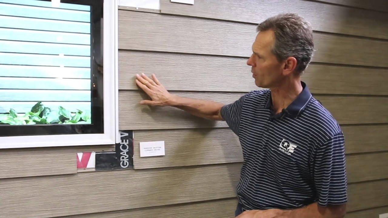 Proper Window Flashing With Trucedar Steel Siding Youtube