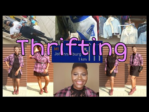 Thrifting around Johannesburg 》Fashion vs Style 》 South African Youtuber