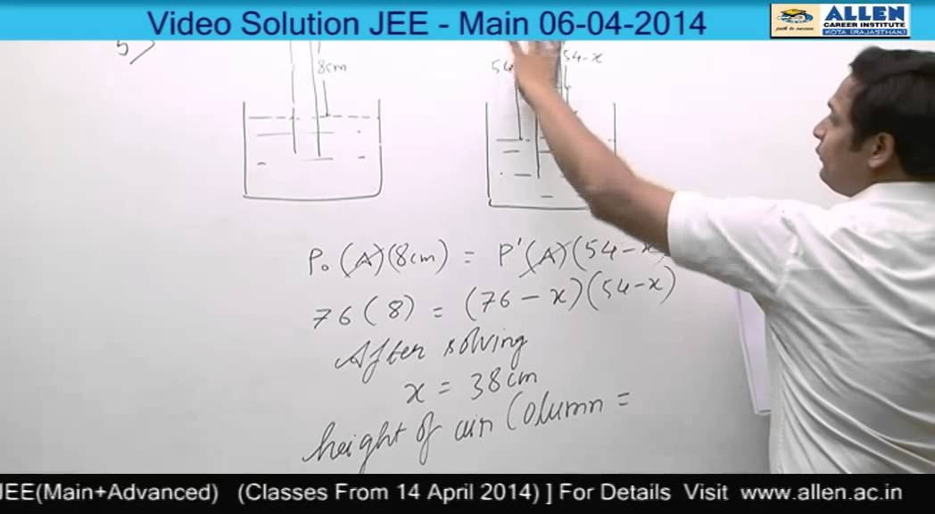 Jee Main 2013 Question Paper With Solution Pdf Allen