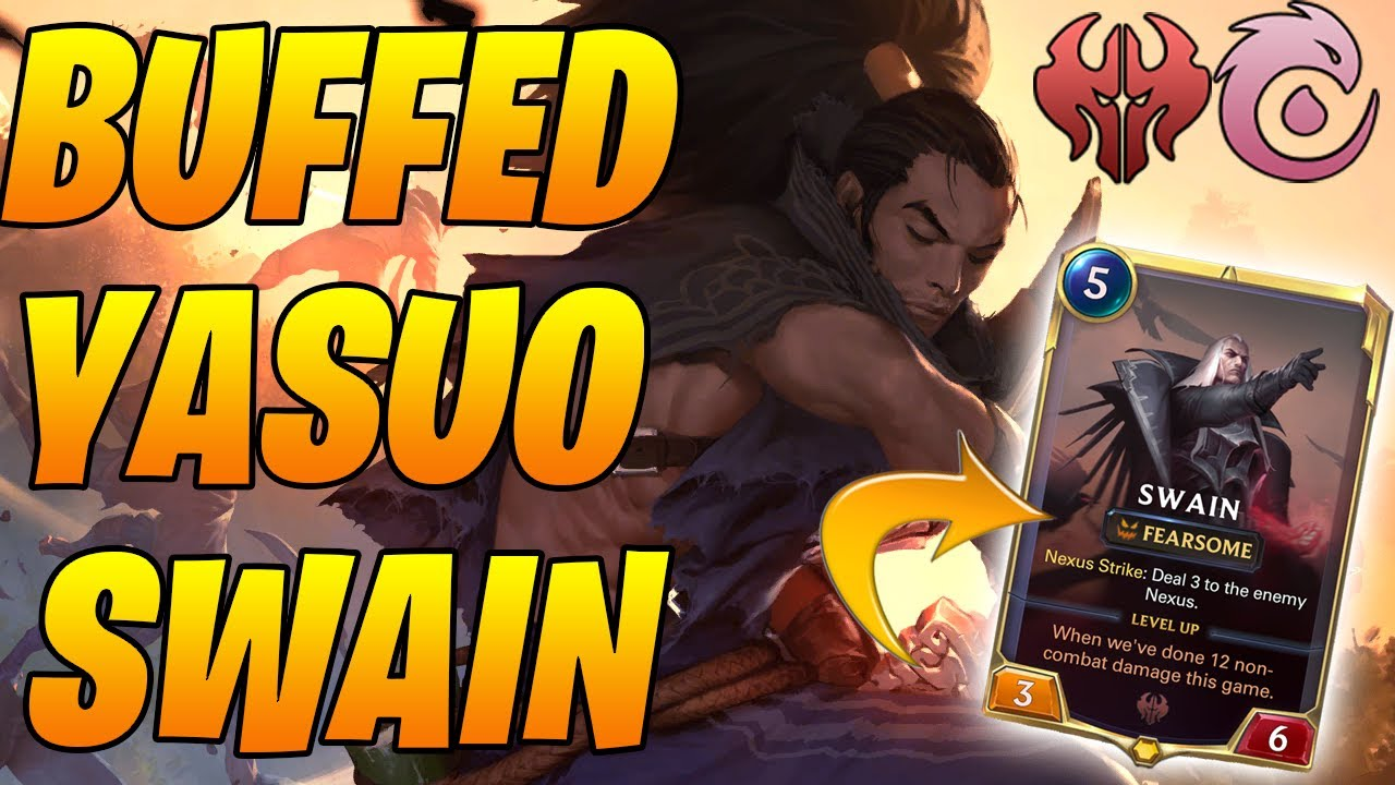 Top 69 Masters Yasuo Swain PERMA STUN Gameplay  | Legends of Runeterra | Controltheboard