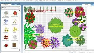 Дизайн и наш цветник. Как составить план цветника?!