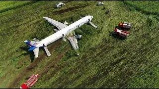 Командир А321 посадити літак без шасі на кукурудзяне поле всупереч інструкціям Airbus (ФОТО)