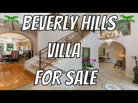 Luxurious Beverly Hills Villa For Sale | Christophe Choo Video | Coldwell Banker Global Luxury