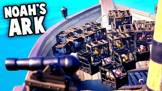 NOAH's ARK Strategy!  FUNNIEST thing in Sea of Thieves (Sea of Thieves Gameplay)