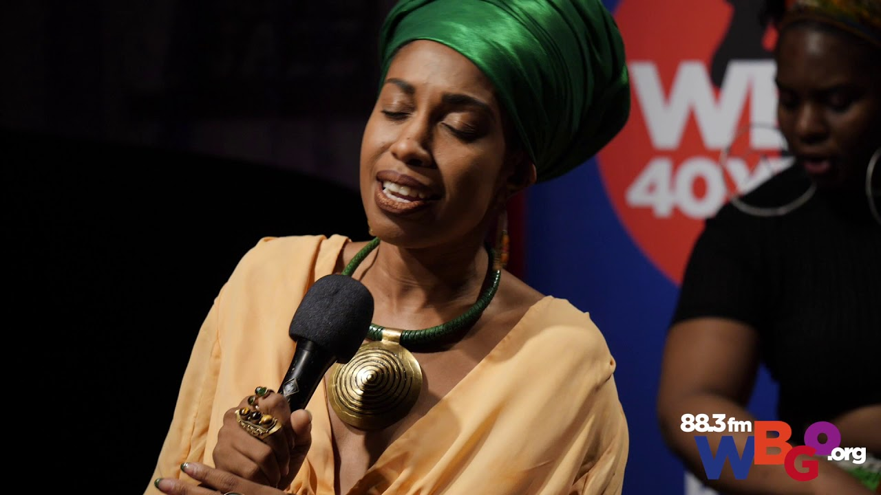 "Jazzmeia Horn | performs  ""When I Say"" on WBGO"