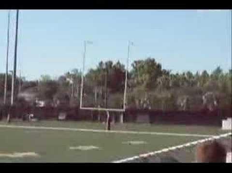 Josh Scobee kicks a 65 yard FG