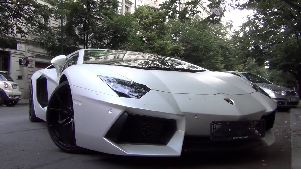 matte white lamborghini aventador lp700 4 w capristo. Black Bedroom Furniture Sets. Home Design Ideas