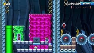 DASHIE goes Super Saiyan!!!: Beating Super Mario Maker