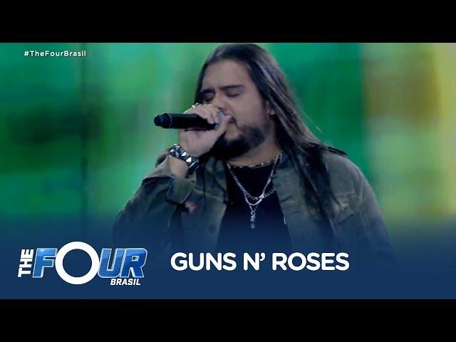 Em noite de rock, Tom Cremon encerra o The Four Brasil com Sweet Child O' Mine