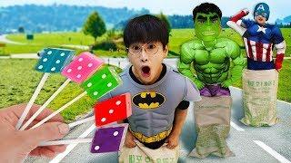 슈퍼히어로 친구들과 체육대회 영어 노래 배우기 SuperHero Song Ten in the Bed बेड में सुपरहीरो सॉन्ग टेन